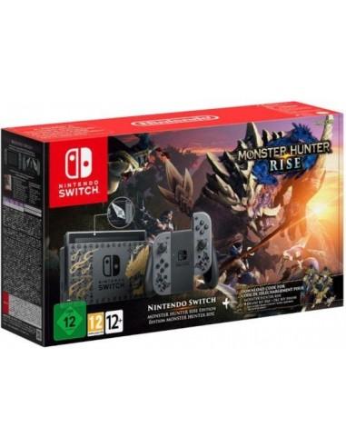 5830-Switch - Nintendo Consola Switch Edicion Limitada Monster Hunter Rise-0045496453381