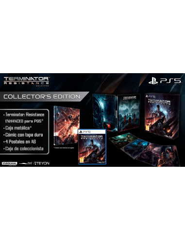 5835-PS5 - Terminator Resistance Enchaced - Collector Edition-5060112433580