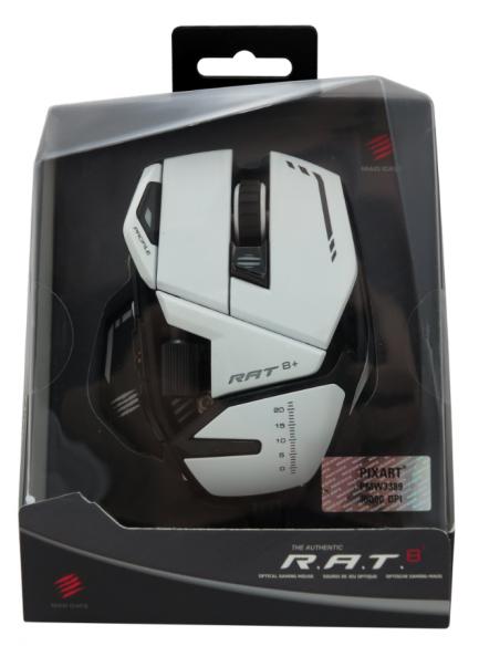 -5977-PC - R.A.T. 8+ Ratón Gaming Blanco-4897093960108
