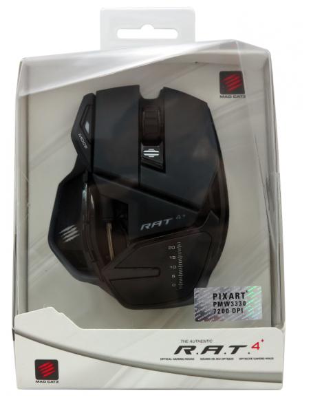 -5963-PC - R.A.T. 4+ Ratón Gaming Negro-4897093960054