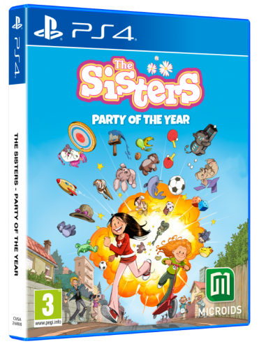 6029-PS4 - The Sisters: Party of the Year-3760156487328
