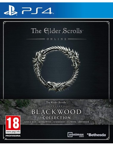 5858-PS4 - The Elder Scrolls Online Collection: Blackwood-5055856428855