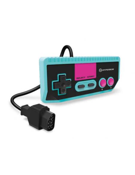 -6039-Retro - Consola Retron 1 AV Azul + 1 Mando (NES)-0810007712246