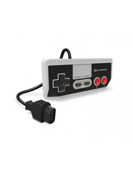 -6037-Retro - Consola Retron 1 AV Gris + 1 Mando (NES)-0810007712239