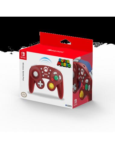 6230-Switch - Mando Hori Battle Pad Wireless Mario-0873124008982