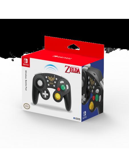 -6229-Switch - Mando Hori Battle Pad Wireless Zelda-0873124008999