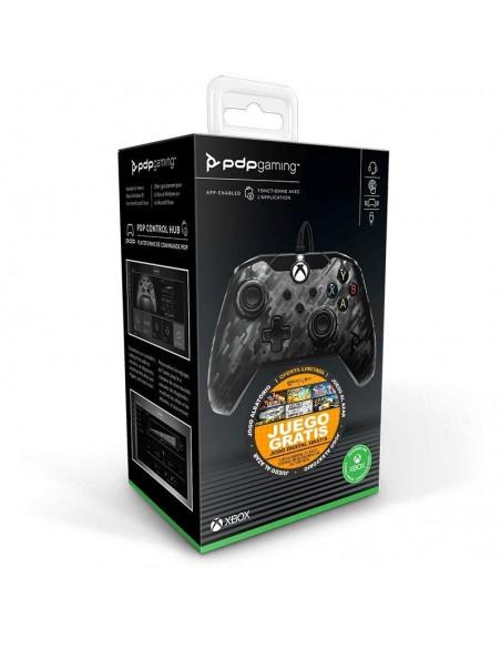 -6259-Xbox Series X - Wired Controller Negro Camo Licenciado -0708056067656