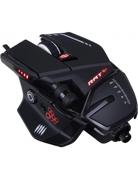 -6361-PC - R.A.T. 6+ Ratón Gaming Negro-4897093960078