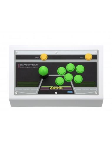 6332-Retro - Sega Astrocity Arcade Stick - Green-3700664528854