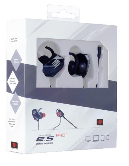 -6357-PC - ES PRO + Auricular Gaming Blanco-4897093960177