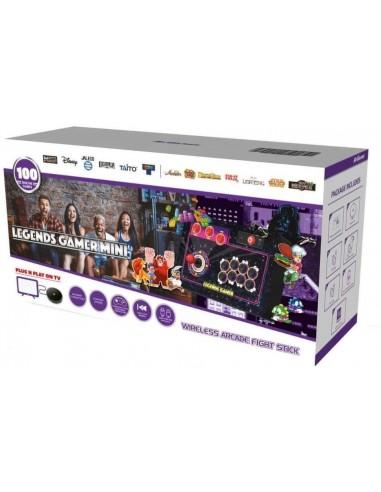 6331-Retro - Legends Gamer Wireless Mini (100 Games)-0818858029797