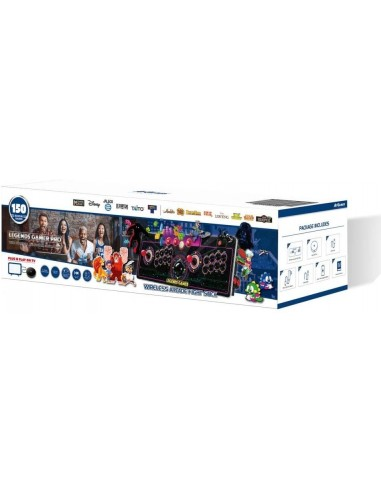 6330-Retro - Legends Gamer Wireless Pro (150 Games)-0818858029964