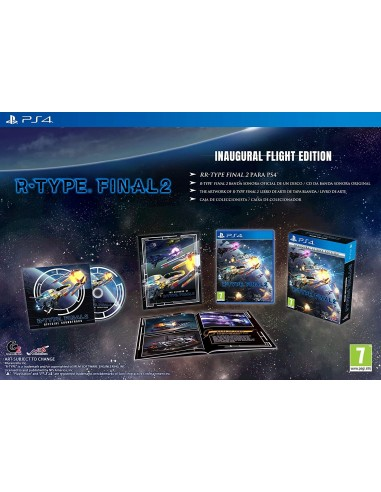5315-PS4 - R-Type Final 2 Inaugural Flight Edition-0810023037095