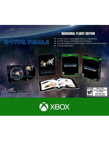 5316-Xbox One - R-Type Final 2 Inaugural Flight Edition-0810023036951