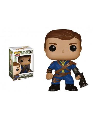 6510-Figuras - Figura POP! Fallout Lone Wanderer Male-0849803058487