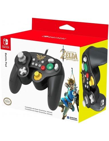 6535-Switch - Mando Hori Battle Pad Zelda-0837124007169