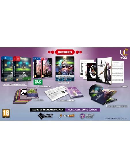 -6552-Switch - Sword of the Necromancer Edicion Coleccionista-8437021082104