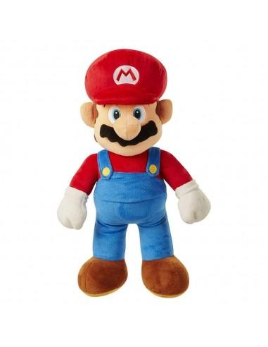 6612-Peluches - Peluche Super Mario Gigante Mario 50 cm-0039897644561