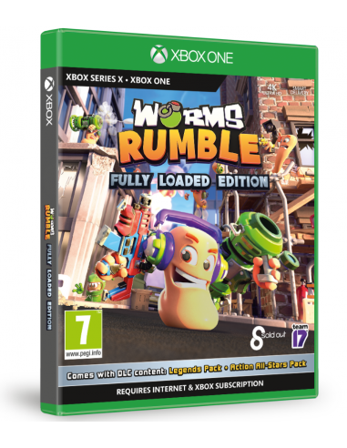 6171-Xbox One - Worms Rumble Fully Loaded Edition-5056208809506