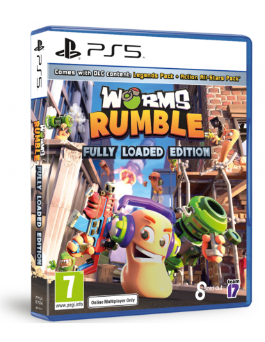 6167-PS5 - Worms Rumble Fully Loaded Edition-5056208809414
