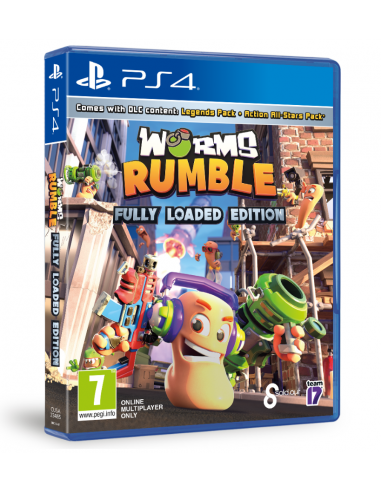 6165-PS4 - Worms Rumble Fully Loaded Edition-5056208809285