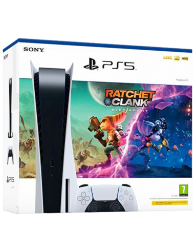 6885-PS5 - Consola PlayStation 5 + Ratchet & Clank: Una Dimensión Apart-0711719706991