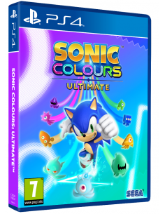 PS4 - Sonic Colours Ultimate