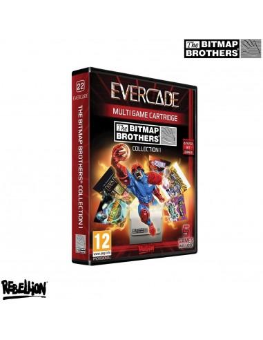 6979-Retro - Cartucho Blaze Evercade  Bitmap Brothers Collection 1-5060690792680