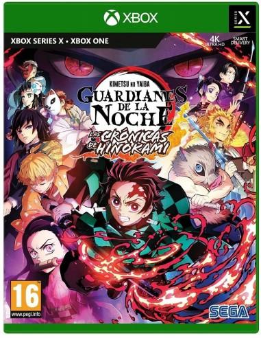7075-Xbox One - Demon Slayer Kimetsu no Yaiba (Guardianes de la Noche)-5055277045570