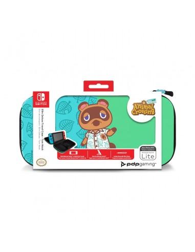 7336-Switch - Funda Deluxe Travel Case Edición Animal Crossing-0708056068332