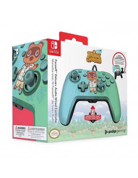 -7341-Switch - Faceoff Deluxe Wired Animal Crossing Licenciado-0708056068264