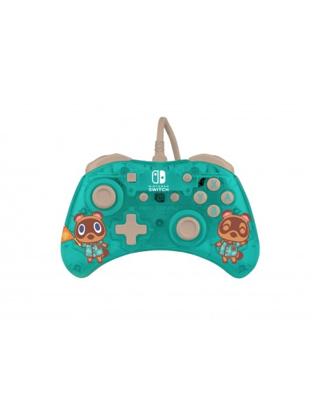 -7350-Switch - Rock Candy Wired Controller Animal Crossing-0708056068301