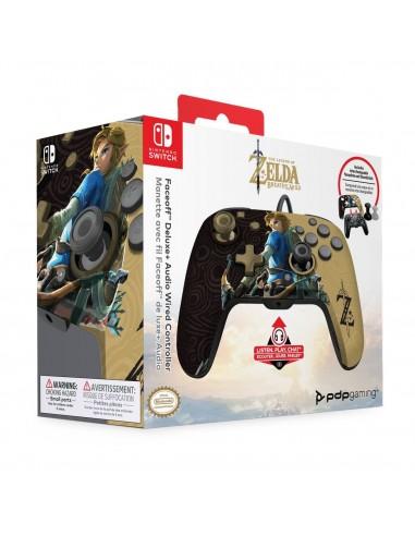 7345-Switch - Faceoff Deluxe Wired Zelda Licenciado-0708056068288