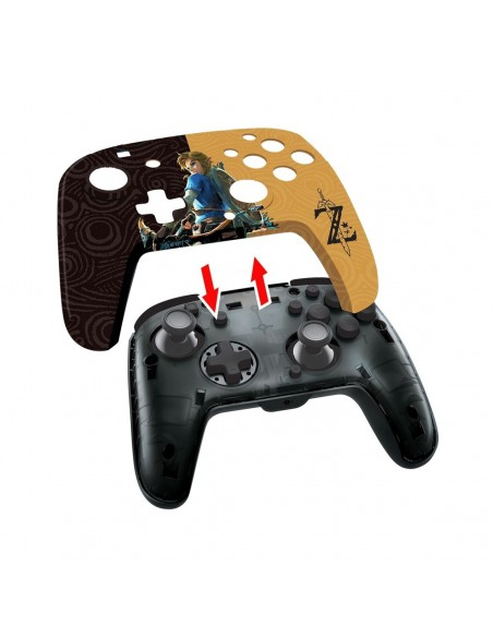 -7345-Switch - Faceoff Deluxe Wired Zelda Licenciado-0708056068288