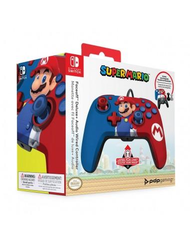 7346-Switch - Faceoff Deluxe Wired Mario Licenciado-0708056068257