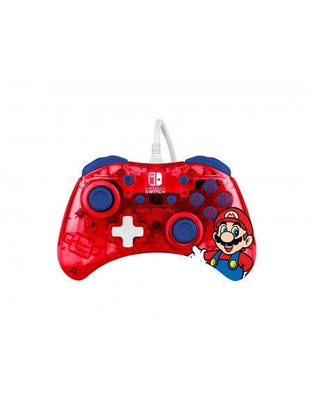 -7348-Switch - Rock Candy Wired Controller Mario-0708056068295