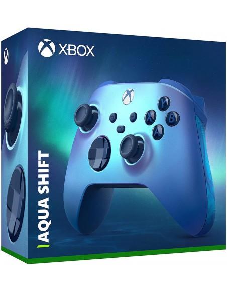 -7235-Xbox Series X - Mando Wireless Acqua Shift Edición Especial-0889842716559