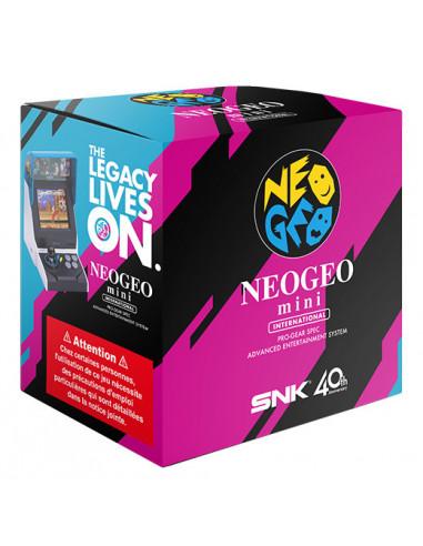 2578-Retro - SNK Neo Geo Mini International Edition (Incluye 40 juegos) -4964808400010