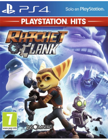 1660-PS4 - Ratchet & Clank - PS Hits --0711719415473