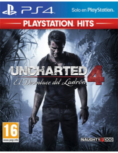 PS4 - Uncharted 4: El...