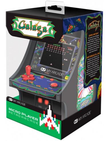1331-Retro - My Arcade Micro Player Retro Arcade Galaga Consola-0845620032228