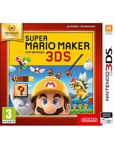 1-3DS - Super Mario Maker  - Selects --0045496477387