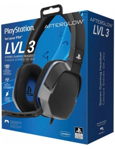 979-PS4 - LVL3 Wired Afterglow Negro Auricular Gaming Licenciado-0708056062743