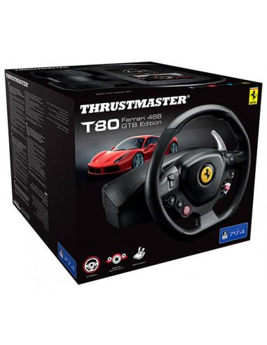 2651-Multi Plataforma - Volante T80 RW Ferrari 488 Edicion GTB - PS5 /PS4 / PC-3362934110314