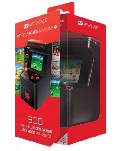 399-Retro - My Arcade Retro Arcade Maquina X 16 bit (300 juegos) Consola-0845620025930