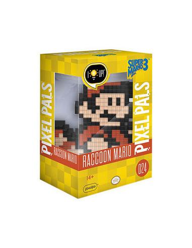 1382-Merchandising - Pixel Pals Nintendo Raccoon Mario-0708056061609