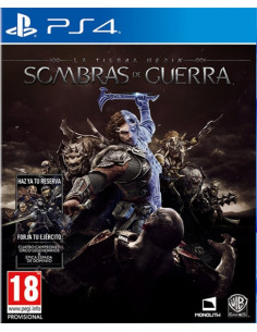 PS4 - La Tierra-Media:...