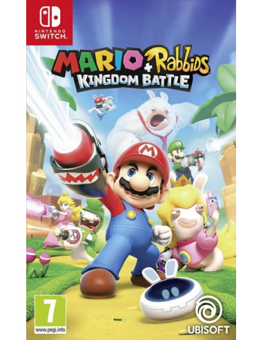 1224-Switch - Mario + Rabbids: Kingdom Battle-3307216024415