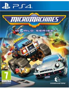 PS4 - Micro Machines World...