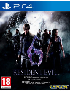 PS4 - Resident Evil 6 HD